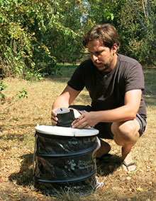 Foto BG-Sentinel 2 in the field