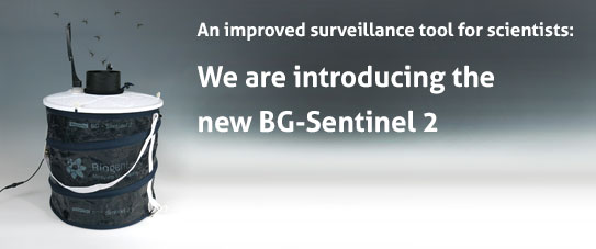 An improved surveillance tool for scientists: The new BG-Sentinel 2